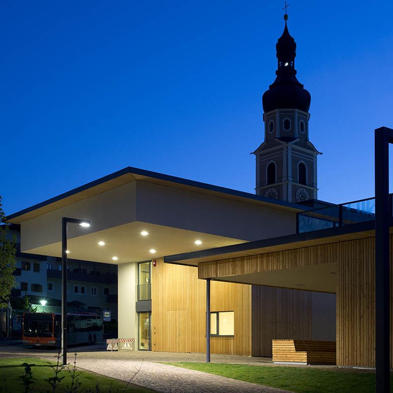 Der Ton macht die Musik: Das Probengebäude in Kastelruth