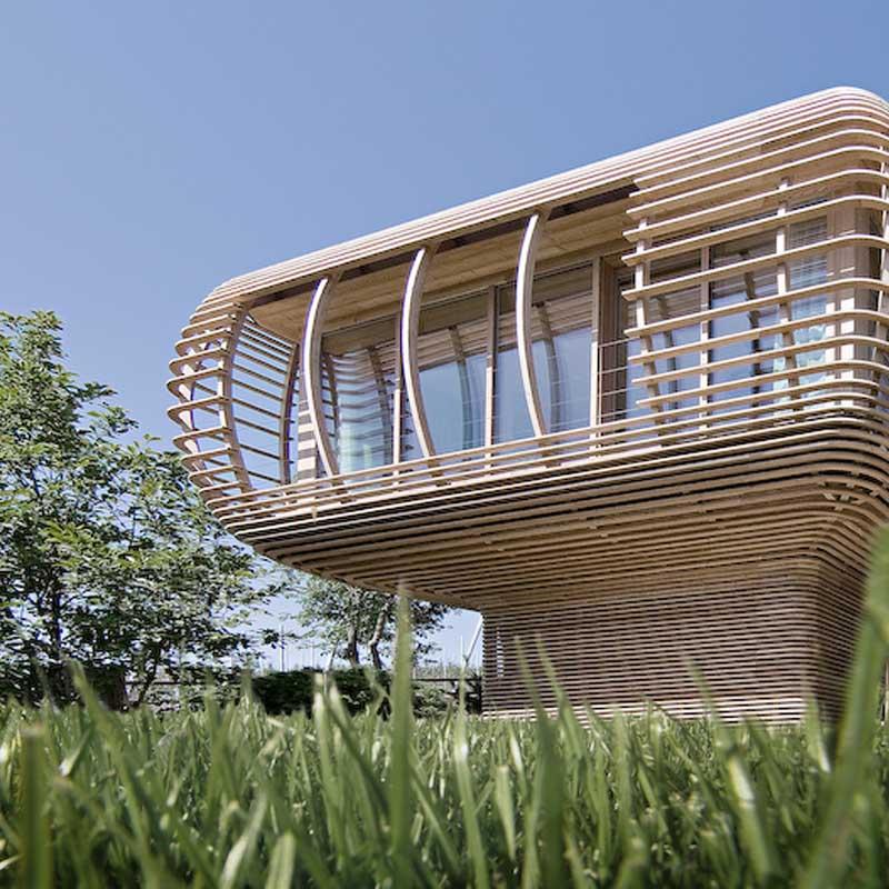 Eine nachhaltige Wohneinheit für die moderne Gesellschaft: Fincube
